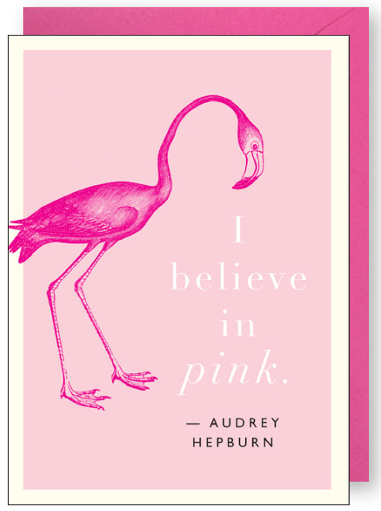 Flamingo Pink Quote