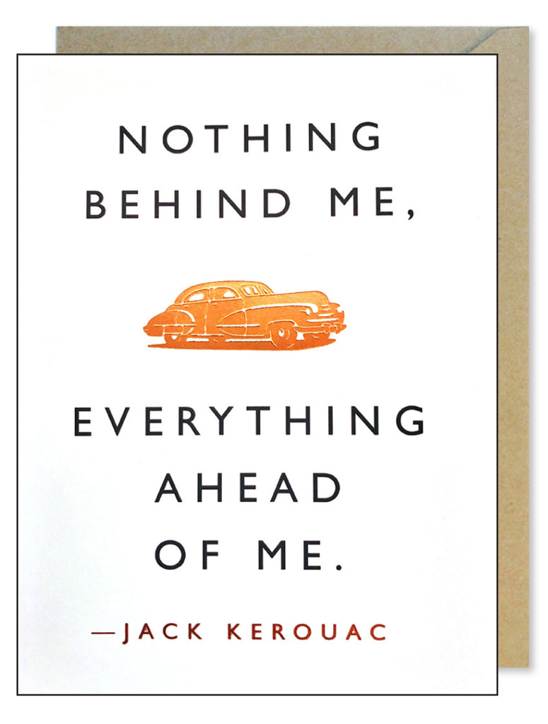 Kerouac Road Quote