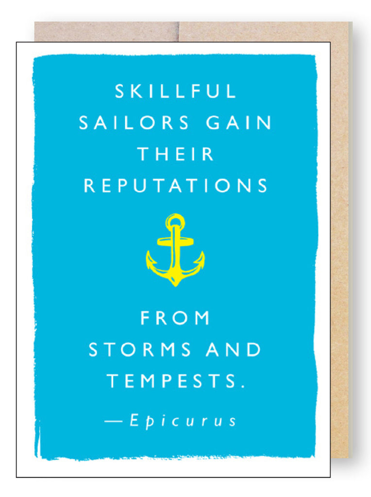 Sailor Storms Quote