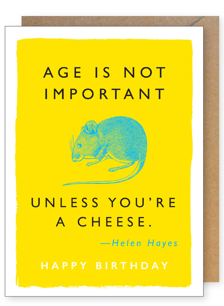 Mouse Quote Birthday