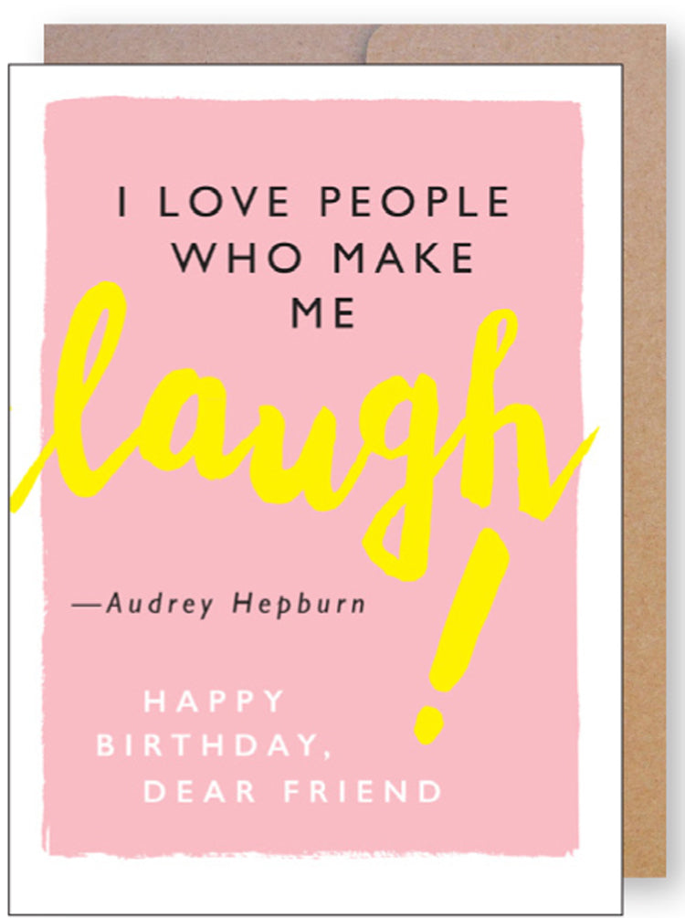 Laugh Quote Birthday