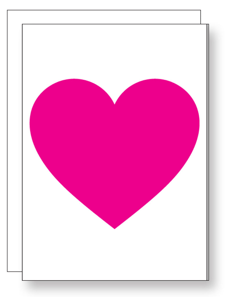 Bright Heart Enclosure Card
