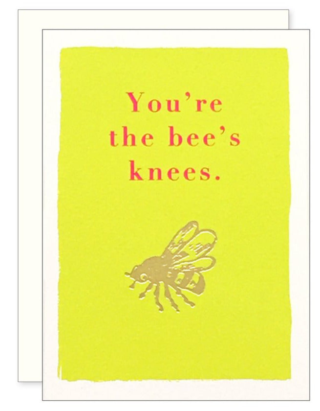 Bee's Knees Enclosure Card