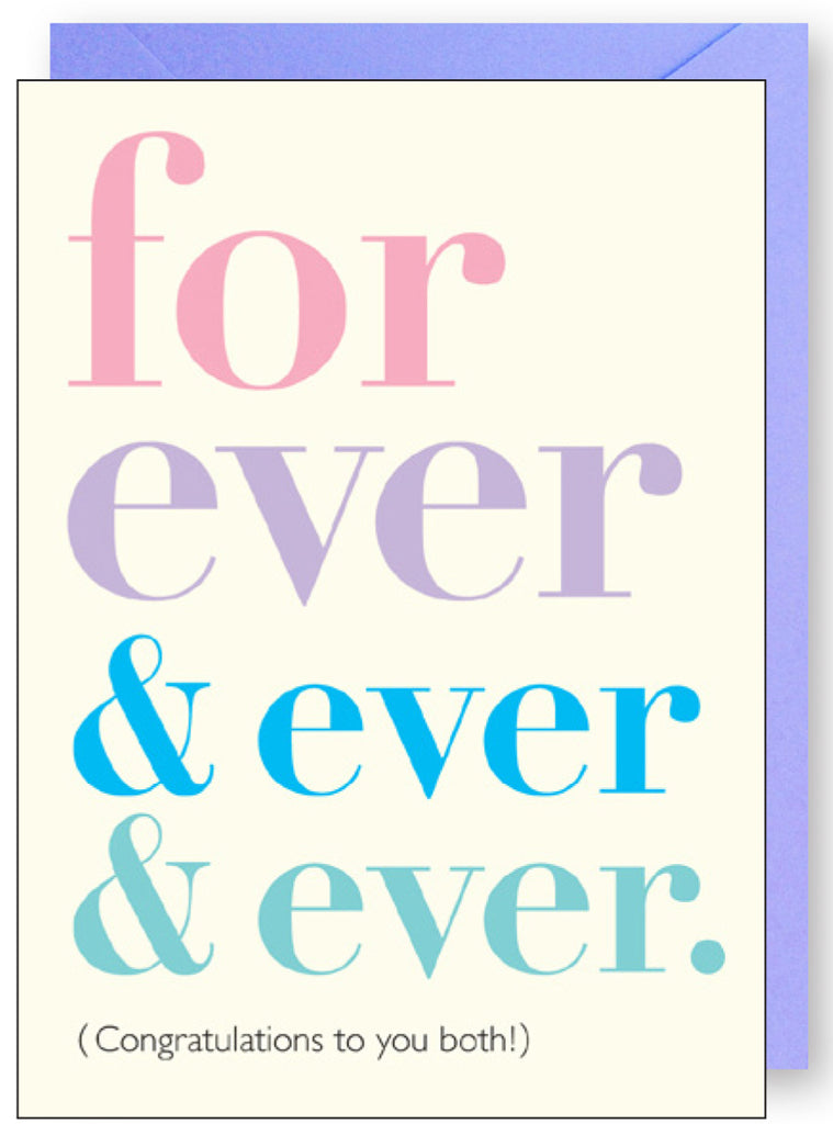 Forever and Ever Wedding