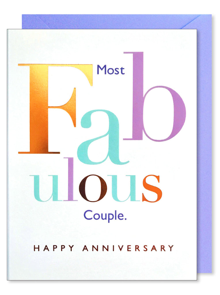 Fab Couple Anniversary