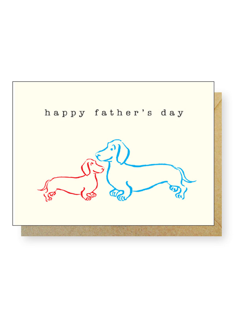 Father's Day Dachshunds