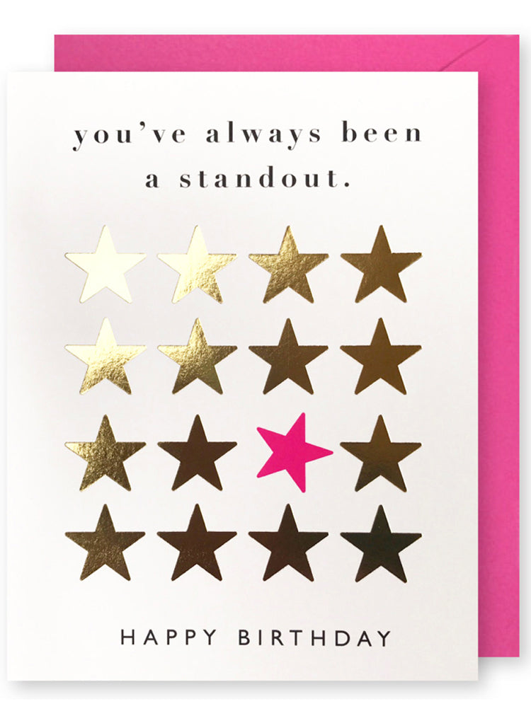 Standout Star Birthday