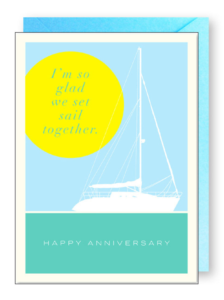 Sailboat Anniversary