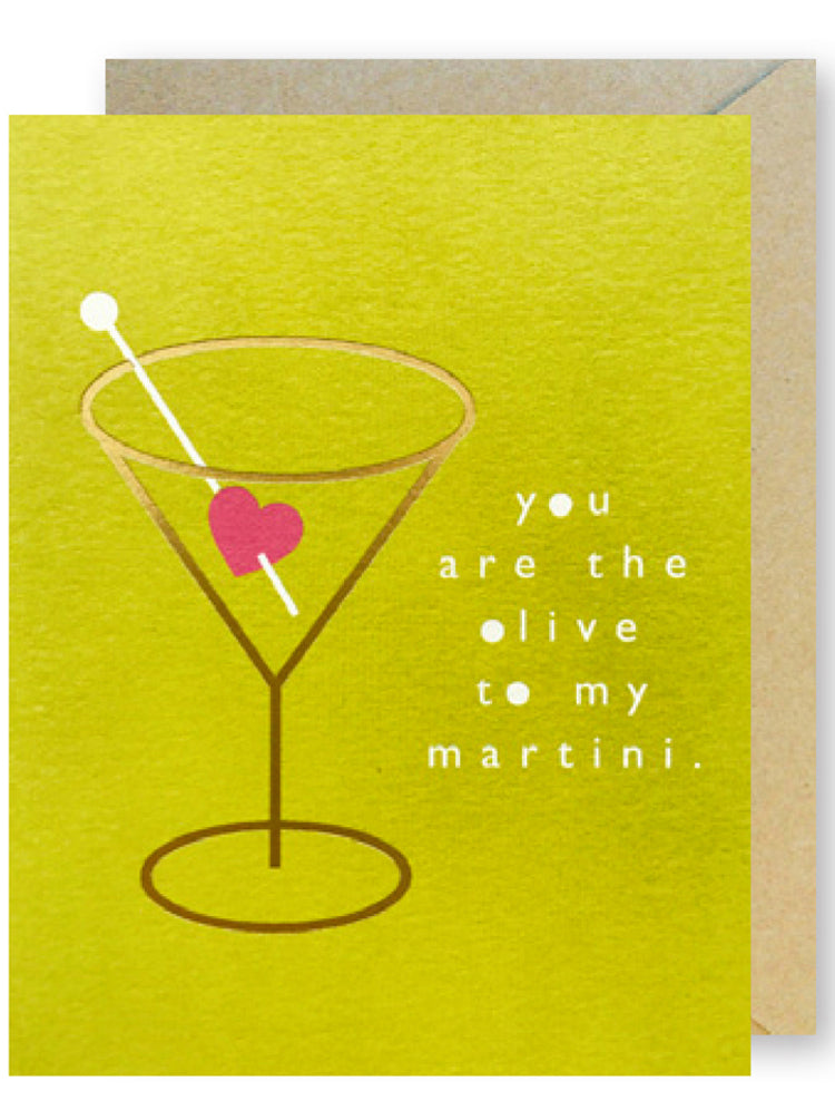 Martini Love Heart