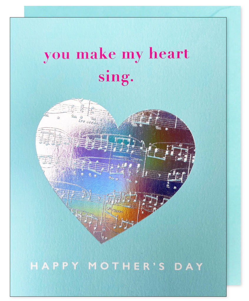 Mother's Day Heart Sing