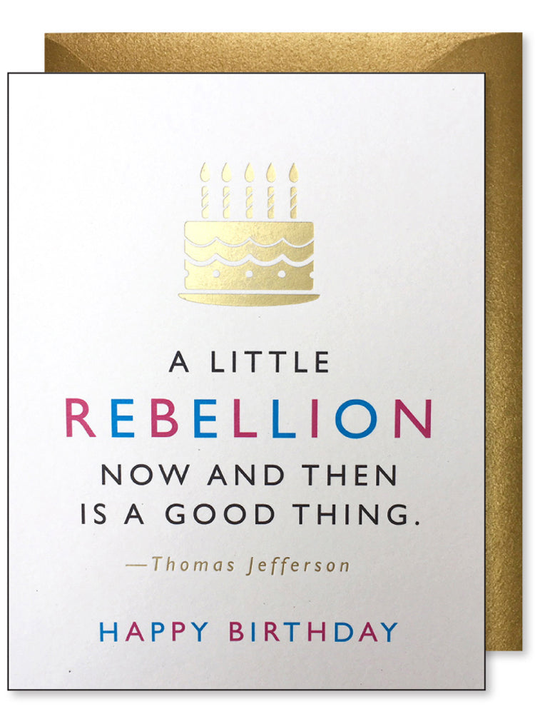 Rebellion Birthday