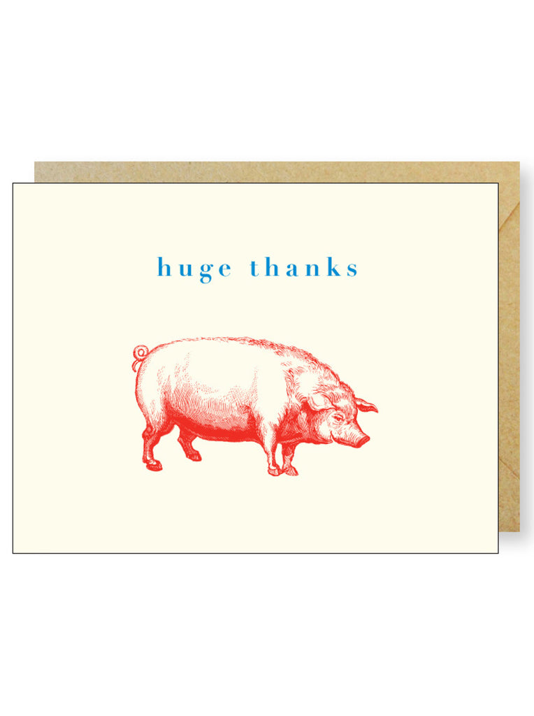 Happy Pig Thanks