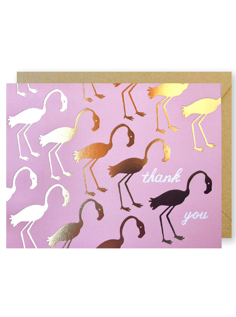 Flamingos Thank You