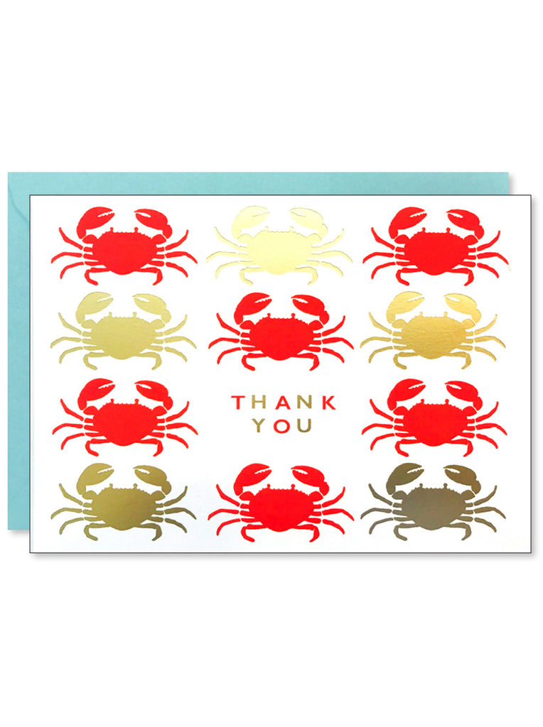 Happy Crabs Thank You