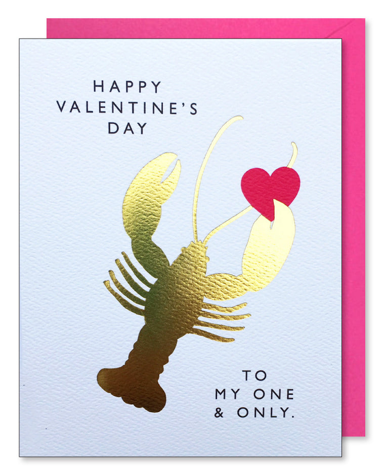 Valentine Lobster