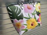 Floral Hawaiian Tote Bag