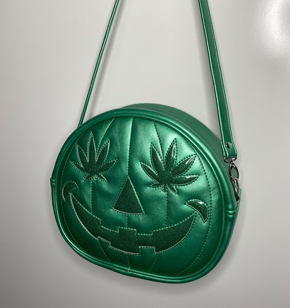 Imperial Pearl & Green Glitter 420 Cruiser Bag