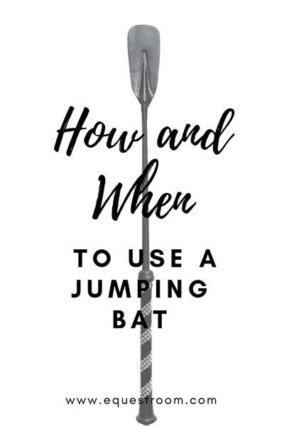 HOW AND WHEN TO USE A JUMPING BAT