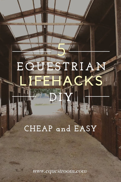 DIY EQUESTRIAN LIFEHACKS