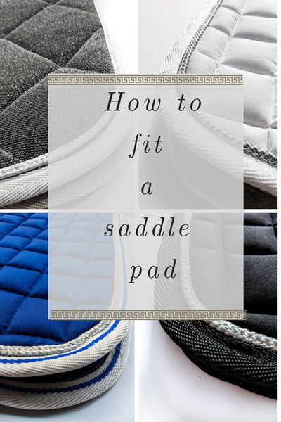 HOW TO FIT A SADDLE PAD