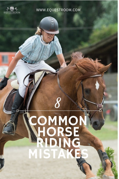10 MOST COMMON RIDING MISTAKES