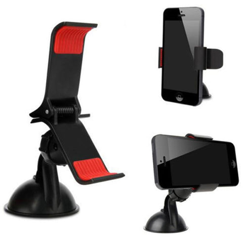 Universal 360 Car Auto Accessories Rotating Cell Phone Windshield Mount Clip Holder For iPhone GPS