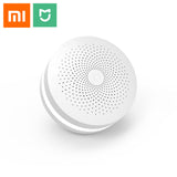 2018 Version Xiaomi Mijia Multifunctional Gateway 2 Hub Alarm System Intelligent Online Radio Night Light Bell  Smart Home Hub