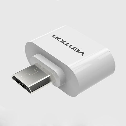 Vention VAS-A07 Micro USB To USB OTG Mini Adapter 2.0 Converter for Android High Speed Certified Cell Phone Accessories