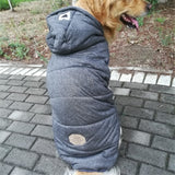 Big Dog Coat Jacket Large Dog Clothes Winter Samoyed Golden Retriever Siberian husky Labrador Big Pet Clothing Outfit Dropship