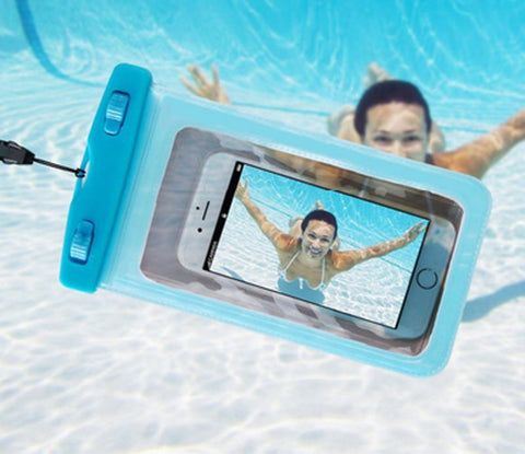 Swimming Bags Universal Waterproof Pouch Cell Phones Pouch Valve Underwater Dry Case Drifting Swimming Pool Accessories