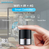 Geeklink Smart Home WIFI+IR+4G Universal Remote Control iOS Android Siri Voice Control Work for USA Alexa Google Home Automation