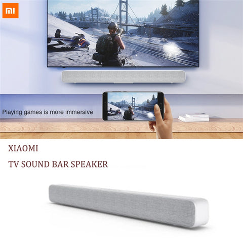 Original Xiaomi Bluetooth Wireless Bar Speaker portable TV Soundbar Speaker Support Optical SPDIF AUX in for Home Theatre