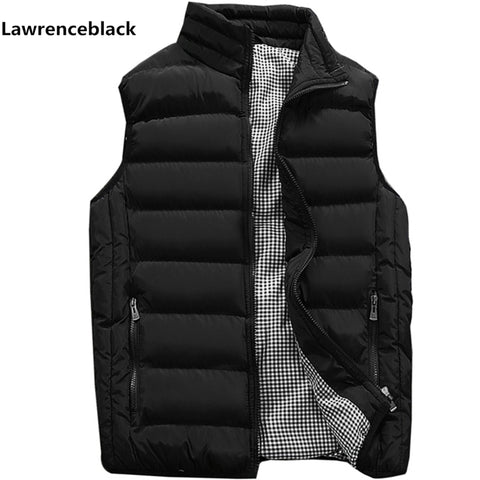 Vest Men New Stylish 2019 Autumn Warm Sleeveless Jacket Men Winter Waistcoat Men's Vest Fashion Casual Coats Mens Plus Size 1960