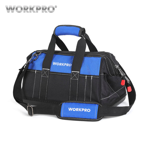 WORKPRO New Tool Bags Waterproof Travel Bags Men Crossbody Bag Tool Storage Bags with Waterproof Base Free Shipping