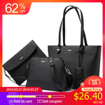 LOVEVOOK handbag women shoulder bags designer crossbody bag female large tote 3 set bag big luxury small purse and handbag 2018