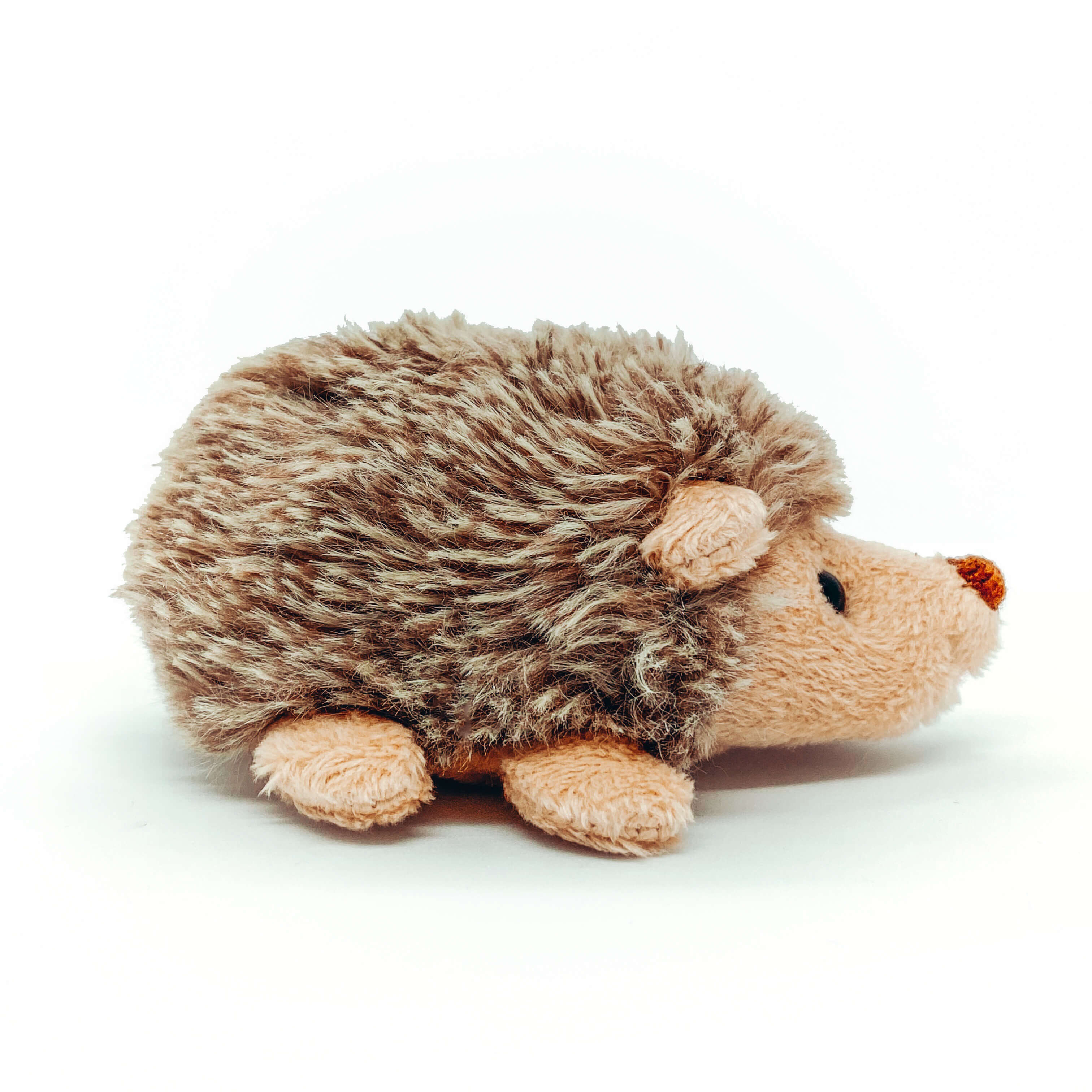 Small Hedgehog Plushee (Walking on tiny feet Position)