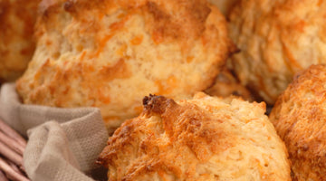 Cheesy Keto Biscuits Recipe