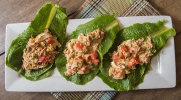 Tuna Avocado Lettuce Wraps (Keto Friendly)
