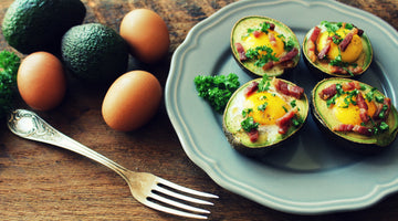 Keto Stuffed Avocado Eggs Recipe