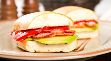Keto Bagel Turkey BLT Sandwiches Recipe
