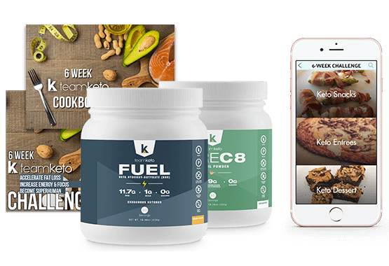 6 Week TeamKeto Challenge Starter Kit