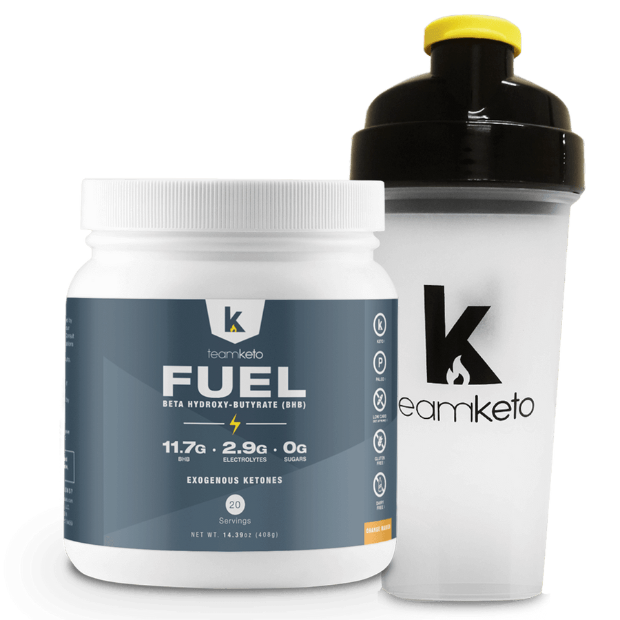 Fuel Ketones (20 Servings) + Shaker