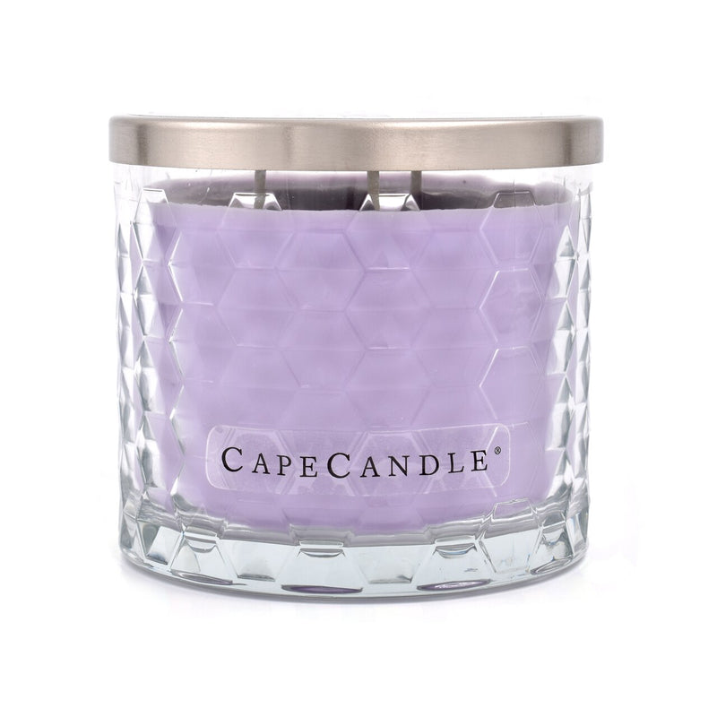 Cape Candle Signature Essentials by Habersham - Lavender Citrus 12.5 oz 3-Wick Jar