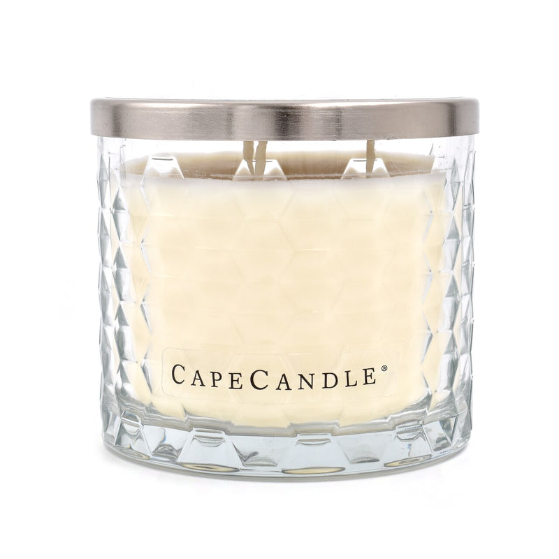 Cape Candle Signature Essentials by Habersham - New Fallen Snow 12.5 oz 3-Wick Jar