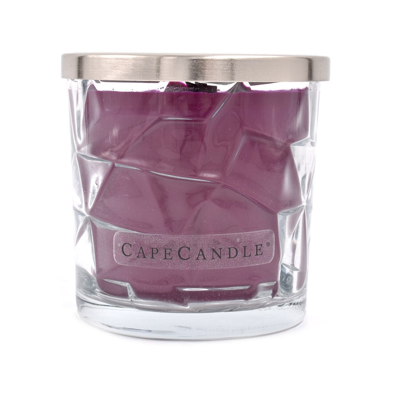 Cape Candle Signature Essentials by Habersham - Dark Merlot 13.5 oz Wooden Wick Jar