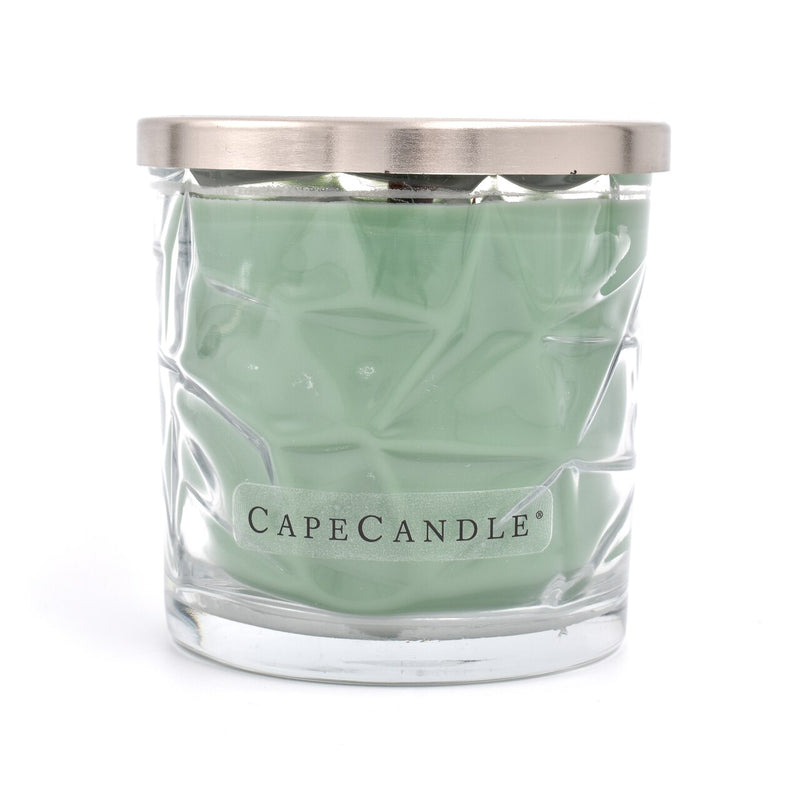 Cape Candle Signature Essentials by Habersham - Cypress Whisper 13.5 oz Wooden Wick Jar