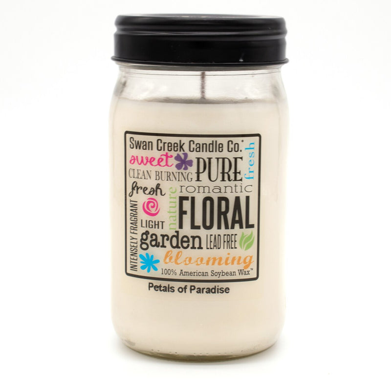 Swan Creek Candle - Petals of Paradise 24 oz Jar