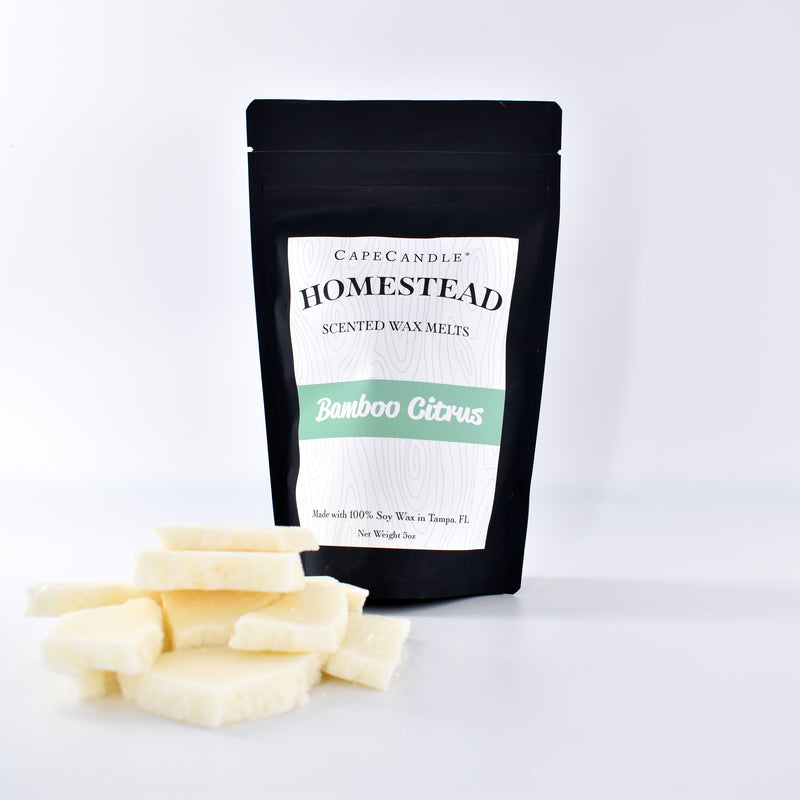 Cape Candle Homestead - Bamboo Citrus Soy Wax Melts