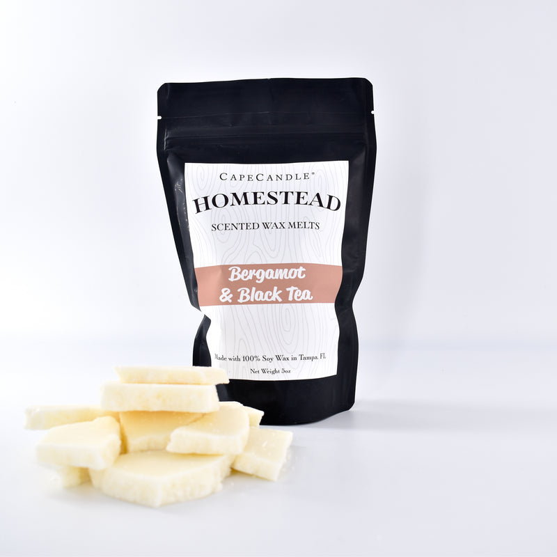 Cape Candle Homestead - Bergamot & Black Tea Soy Wax Melts