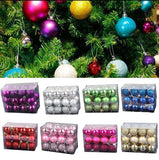 Christmas Tree Baubles (24pcs)
